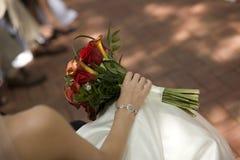 brud- brudvarv s för bukett Royaltyfri Fotografi