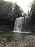 brud- falls skyler Royaltyfri Bild