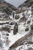 brud- falls skyler vinter Royaltyfria Foton