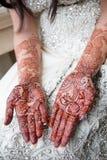 Brud- henna Arkivfoton