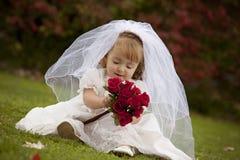 brud little Royaltyfria Bilder