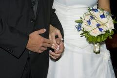 Brud och brudgum Arkivbilder