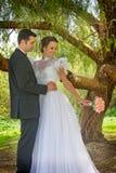 Brud och brudgum Arkivbild