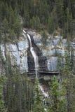 Brud- skyla nedgångar Alberta Canada royaltyfri foto