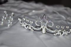 Brud- tiara Royaltyfri Foto