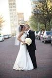 brudbrudgum fotografering för bildbyråer