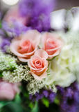 brudbrudgumförbindelsen föreställer bröllop Royaltyfri Fotografi