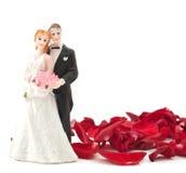brudbrudgumpetals steg Fotografering för Bildbyråer