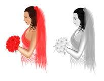 Bruden Arkivbild