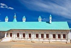 Bruderschaftsgebäude Neues Jerusalem-Kloster Stockfotos