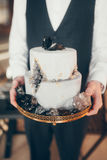 brudgum Fotografering för Bildbyråer