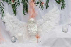 Brudgum brud, vigselringar, brud- bukett Royaltyfria Foton