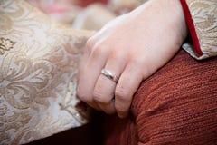 Brudgumcirkel Royaltyfri Foto