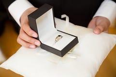 Brudgumcirkel Royaltyfri Fotografi