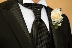 Brudgumklänning Arkivfoto