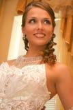 brudklänningbröllop Arkivbilder