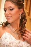 brudklänningbröllop Royaltyfria Bilder