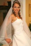 brudklänningbröllop Royaltyfri Foto