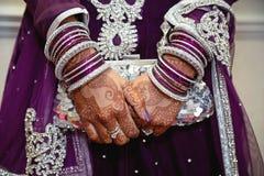 Brudkopplingpåse Royaltyfri Foto