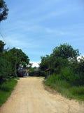 brudna droga obszarów wiejskich Zdjęcie Stock