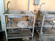 Brudna kuchnia brudna Zdjęcie Stock