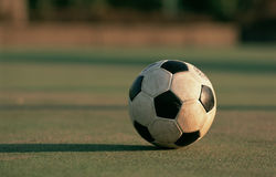 brudna piłki piłka nożna Obrazy Stock