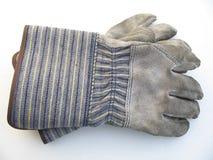 brudna rękawiczki pracy Fotografia Stock