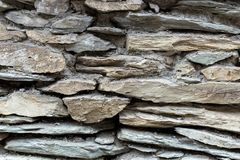 brudna stara kamienna ściana Obrazy Royalty Free