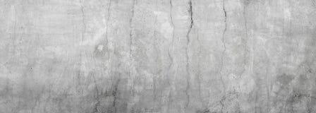 Brudna szara betonowa ściana zdjęcia stock