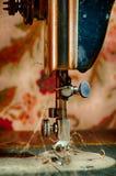 Brudna Szwalna maszyna Fotografia Royalty Free