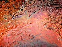 brudna wazeliniarska woda Fotografia Stock