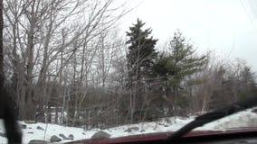 Brudna wiatrowa osłona z wiper fluidem zbiory wideo