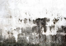 brudne ściany Obraz Royalty Free