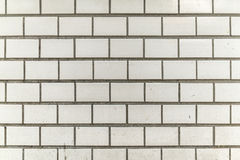 brudnego i słoistego bielu miasta popielata dachówkowa ściana Zdjęcie Royalty Free