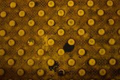 Brudny Żółty diamentu talerz Obrazy Stock