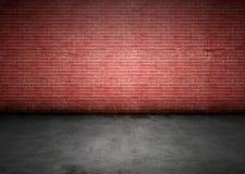 Brudny ściana z cegieł Fotografia Royalty Free
