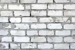 Brudny ściana z cegieł Obrazy Royalty Free