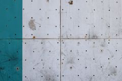 Brudny drewniany płytki tło Fotografia Stock
