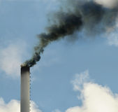 brudny ekologii problemów dym obraz stock