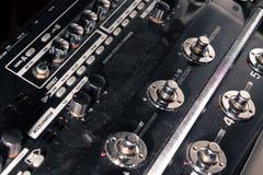Brudny gitara procesor Obraz Stock