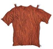 Brudny koszulowy błoto Fotografia Royalty Free