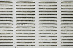 Brudny lotniczy conditioner, nagrzewacza filtr/ zdjęcia royalty free