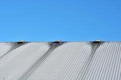 Brudny metalu dach Obrazy Stock