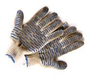 brudny ogrodowe rękawiczki Obrazy Stock