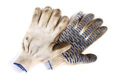 brudny ogrodowe rękawiczki Obraz Royalty Free