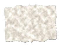 brudny papier rozdzierającego Zdjęcia Stock