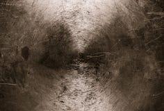 Brudny podławy metalu tło zdjęcia stock