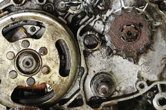 Brudny silnik Obraz Stock