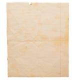 brudny stary papier Obrazy Stock