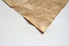brudny stary papier Zdjęcie Royalty Free